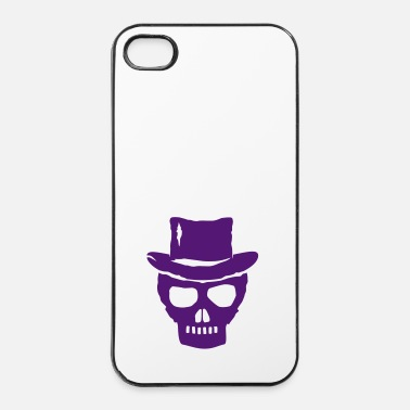 Skull skull hat - Carcasa iPhone 4/4s