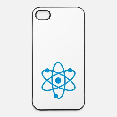 Atome science symbol / nerd - Coque rigide iPhone 4/4s