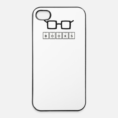 Element Boeken scheikundig element nerd bril Sh6zg - iPhone 4/4s hard case