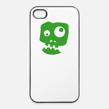 Virus Zombie - Custodia rigida per iPhone 4/4s
