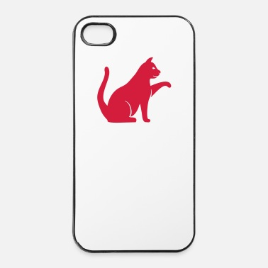 Zampa Gatto - Custodia rigida per iPhone 4/4s