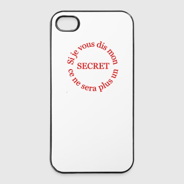 le secret - Coque rigide iPhone 4/4s