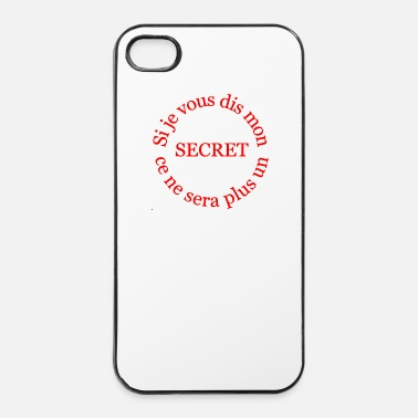 Philosophie le secret - Coque rigide iPhone 4/4s