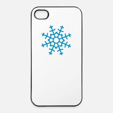 Nouvel An snowflake iii - Coque rigide iPhone 4/4s