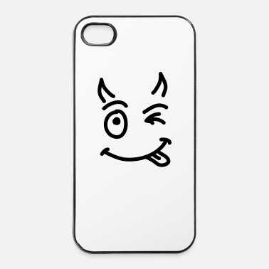 Devil Horns little_devil_smile_sc1_d - iPhone 4/4s Hard Case