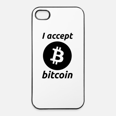 Anonymous I Accept Bitcoin's - iPhone 4/4s kovakotelo