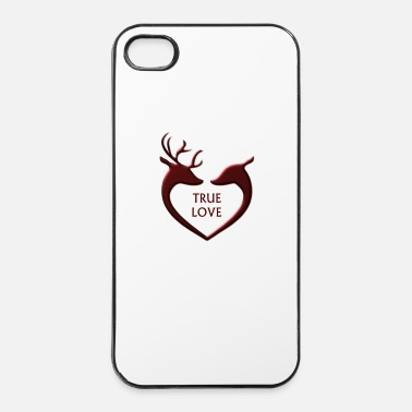 Norvegia Reindeer - Custodia rigida per iPhone 4/4s