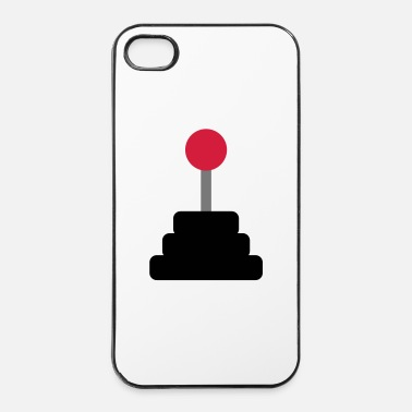 Rete joystick - Custodia rigida per iPhone 4/4s