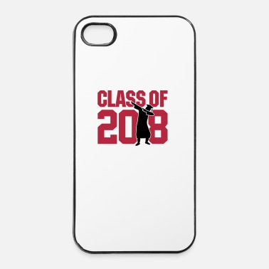 School Class of 2018 dab dabbing graduate school - iPhone 4/4s hard case