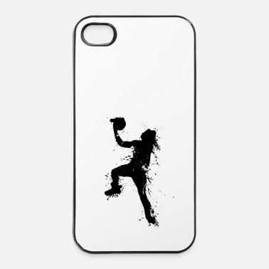 Sport De Balle basketballer jump 1 - Coque rigide iPhone 4/4s