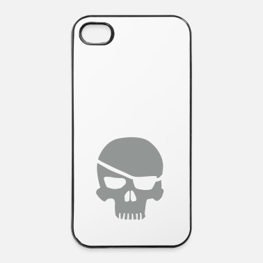 Skull skull eyepatch - Coque rigide iPhone 4/4s