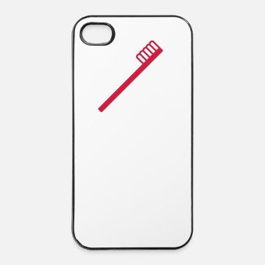 Dent Brosse à dents - Coque rigide iPhone 4/4s