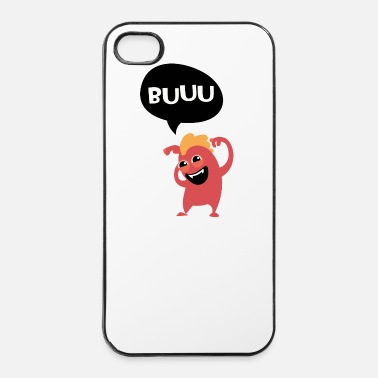 Monstre Me fait pas peur monstre, Halloween - Coque rigide iPhone 4/4s