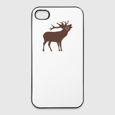 Deer jagt jægere 2c - iPhone 4/4s Hard Case