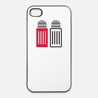 Restaurant Peper en zout - iPhone 4/4s hard case