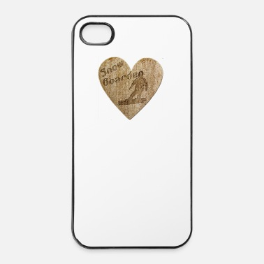 Snowboard Love - snowboarding - iPhone 4/4s Hard Case