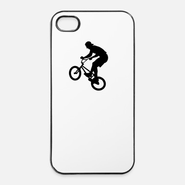 Bmx  Cool BMX Rider  - Custodia rigida per iPhone 4/4s