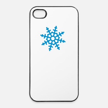 Nouvel An snowflake ii - Coque rigide iPhone 4/4s