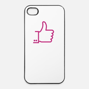 Sposa I like / I love 1c - Custodia rigida per iPhone 4/4s