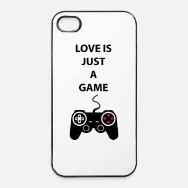 Just Love is just a game 2c - Custodia rigida per iPhone 4/4s
