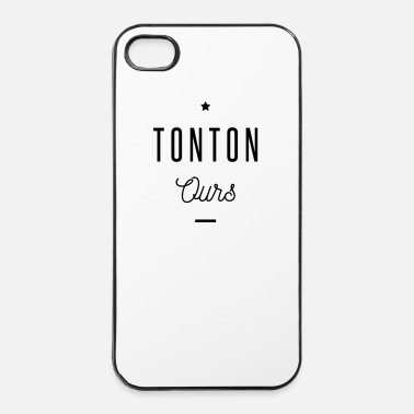 Oncle TONTON OURS - Coque rigide iPhone 4/4s