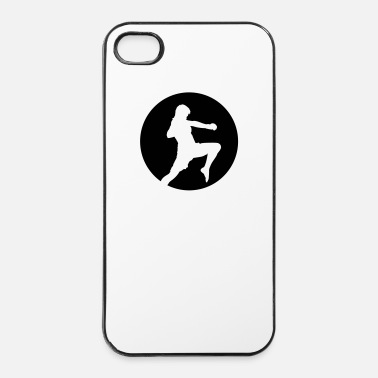 Combattente Ninja Fighter - arti marziali - Custodia rigida per iPhone 4/4s