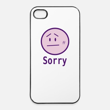 Triste sorry - Custodia rigida per iPhone 4/4s