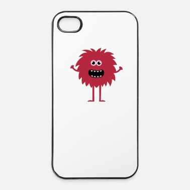 Monsteri Funny Cute Monster - iPhone 4/4s kovakotelo