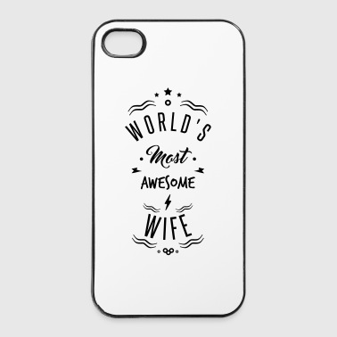 awesome wife - Coque rigide iPhone 4/4s