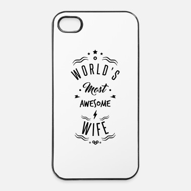Planeet awesome wife - iPhone 4/4s hard case
