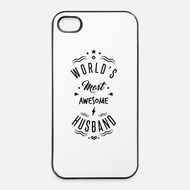 Se Marier AWESOME HUSBAND - Coque rigide iPhone 4/4s