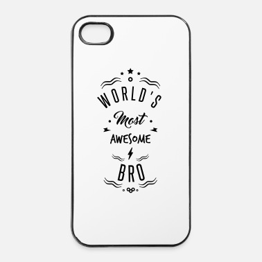 Fratello awesome bro - Custodia rigida per iPhone 4/4s