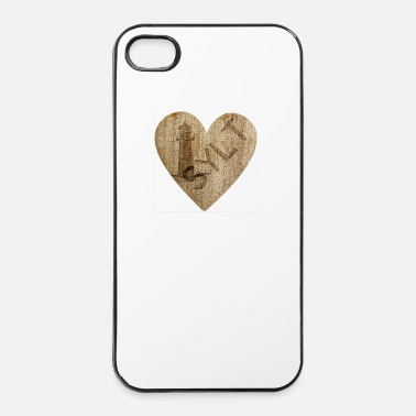 Noordzee Love - Sylt - iPhone 4/4s hard case