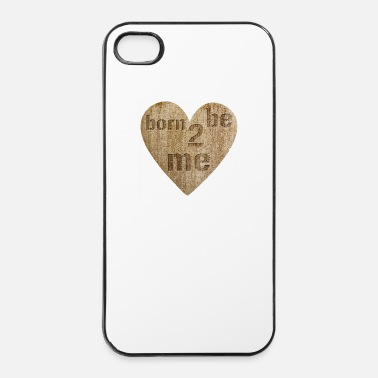 Ego Love - born to be me - iPhone 4/4s hard case