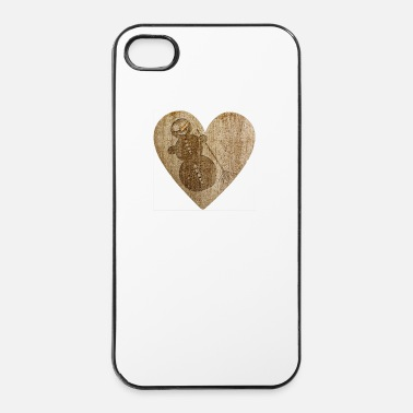 Love Love - Schneemann - Etui na iPhone'a 4/4s