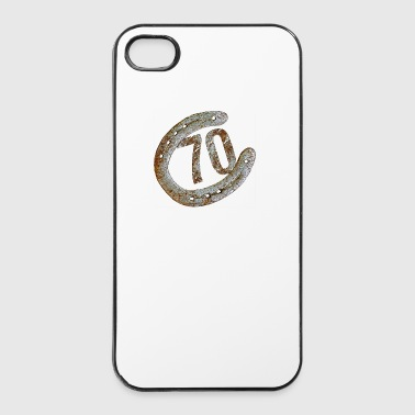 Horseshoe - 70 years - iPhone 4/4s Hard Case