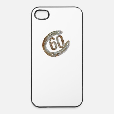 Fer Fer à cheval - 60 ans - Coque rigide iPhone 4/4s