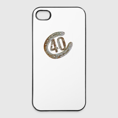 Horseshoe - 40 years - iPhone 4/4s Hard Case