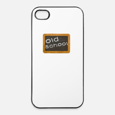 Police old school - Coque rigide iPhone 4/4s