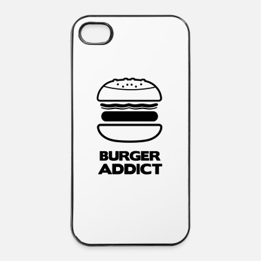 Roi Du Barbecue BURGER ADDICT - Coque rigide iPhone 4/4s