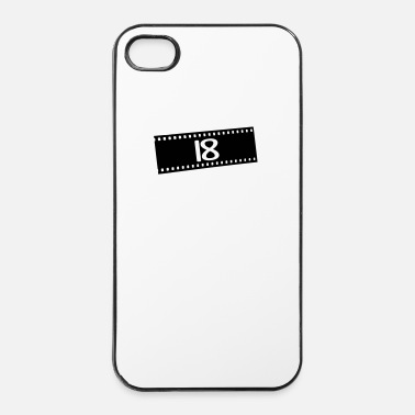 Oude Negativfilm-18 jaar - iPhone 4/4s hard case