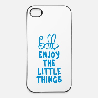 Happy Birthday enjoy the littlet hings 1c - Custodia rigida per iPhone 4/4s