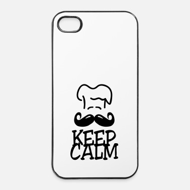 Cupcake keep calm chef - Coque rigide iPhone 4/4s