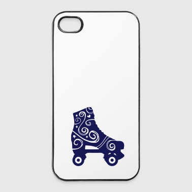 skates decorated 1c 2 / rollerskates - Coque rigide iPhone 4/4s
