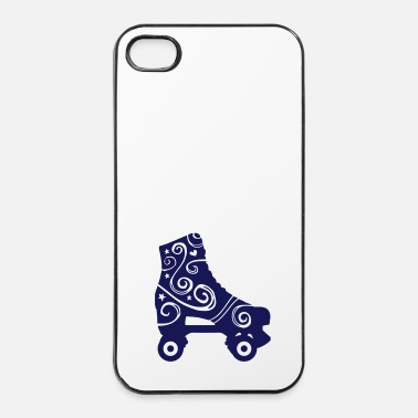 Skateboard skates decorated 1c 2 / rollerskates - Coque rigide iPhone 4/4s