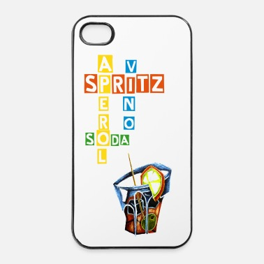 Italie Spritz Aperol Party Venezia Italia - Coque rigide iPhone 4/4s