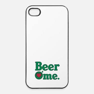 Idée Beer Loves me - Coque rigide iPhone 4/4s