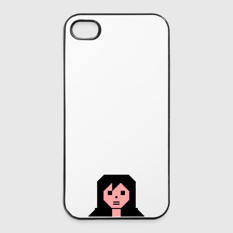 C64 Girl - iPhone 4/4s Hard Case