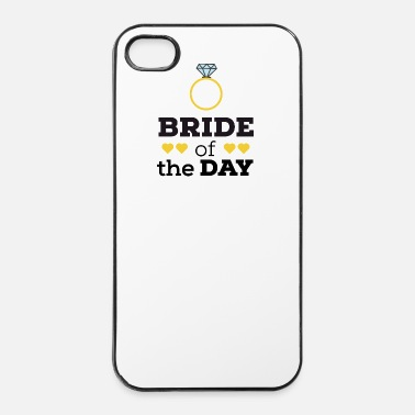 Valentines Day Bride of the day Sqx9c-design - iPhone 4/4s Hard Case