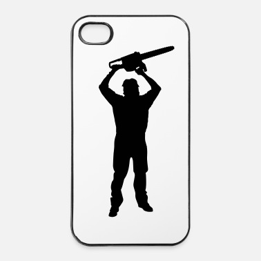 Splatter Chainsaw Killer - Horror / Splatter  - Carcasa iPhone 4/4s